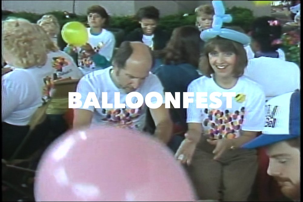 Still from,  Balloonfest , dir. Nathan Truesdell, 6.5 min., USA, 2017, image courtesy of the artist