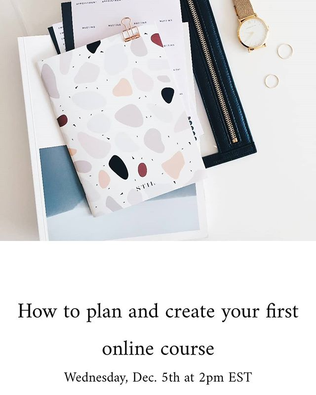 It's going down this week! Make sure you save your seat. ✨ ✨ This is not your ordinary masterclass full of fluff, pitching and theory that's never been tested. ✨ ✨ I'm sharing what I've learned working with smart business owners like yourself to plan and create online courses. I'm also going to let you in a little secret that most online creators don't know.😉 Link in the bio @shariceandco