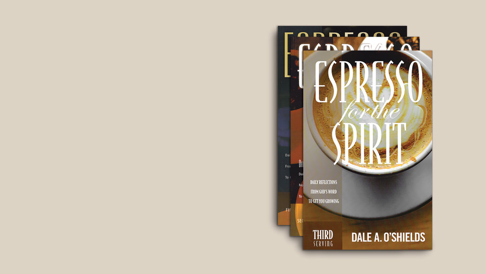 Espresso for the Spirit - Daily motivation and inspirationto help you and your team stay focused, energized and at your best for the Kingdom.- $25 for each set of 3 books