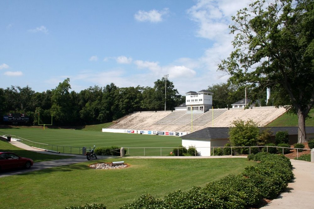 Sirrine Stadium was used by  Furman University 's  American football  team from 1936 to 1980. It has a  seating capacity  of 15,000. The stadium is home to  Greenville High School  Red Raiders and has hosted the  HBCU Classic  since 2005.  Stadium events include soccer, football, and lacrosse games as well as concerts.