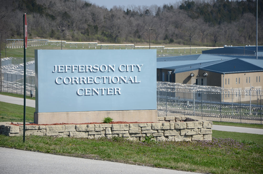 The Jefferson City Correctional Center, located in Jefferson City, Missouri, on Monday, 21, 2016. The correctional center can hold 1,971 men ranging from medium to maximum security levels.