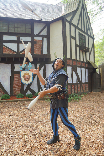 """Paolo Garbanzo"" at King Richard's Faire, Carver MA"
