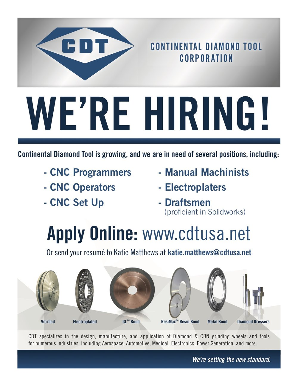 Now Hiring CDT