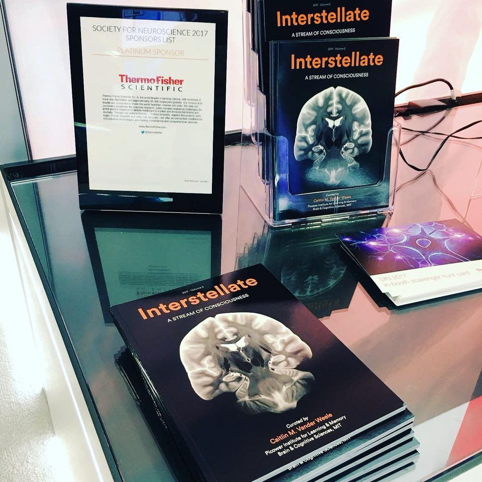 Volume 2 copies on display at the ThermoFisher booth