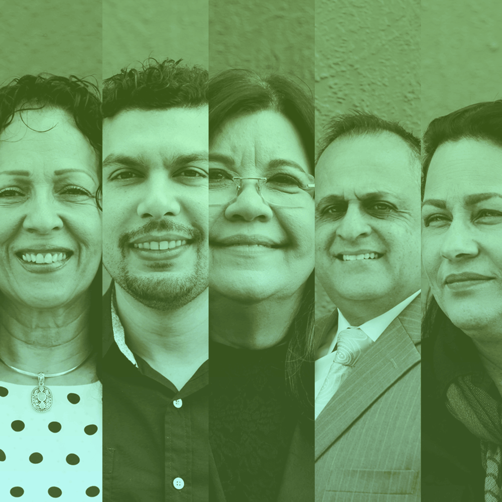 Líderes - Saluda al equipo de liderazgo de IRC.