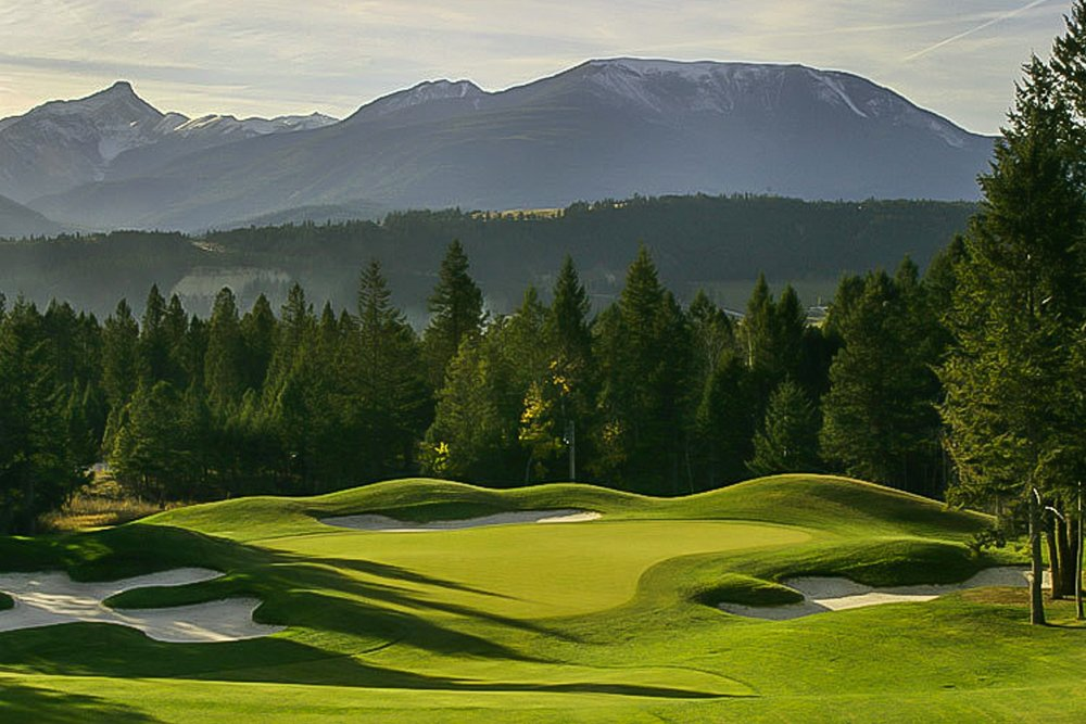 Eagle ranch golf course, invermere bc