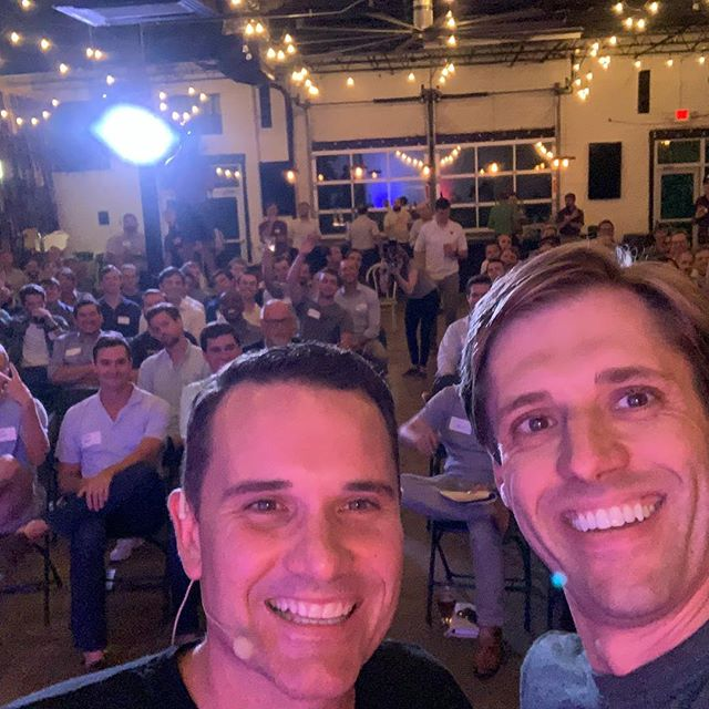 Awesome time at @purposeontap last night with @48in48 @dragonarmy @daggeragency's own @jeffhilimire. He challenged a brewery full of guys to think really big. Thanks, buddy. @mondaynight