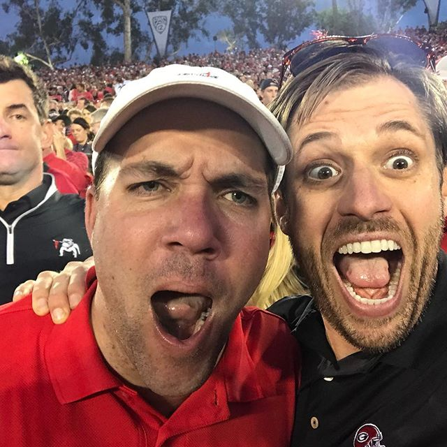 This is how I want to feel tonight. #GoDawgs #SECCG #BeatBama