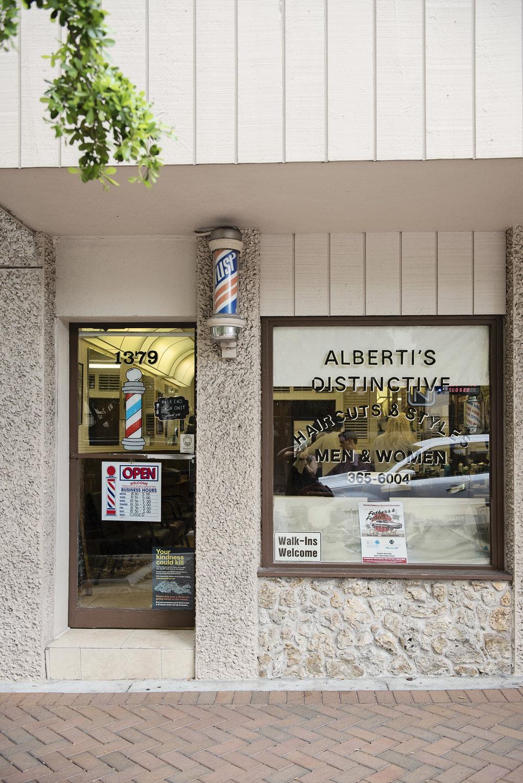 Alberti's Distinctive Haircuts & Styles