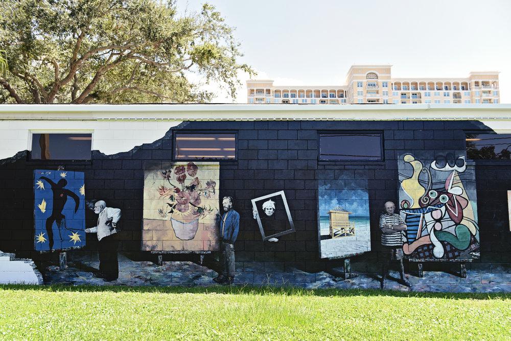 Art Center Sarasota Mural