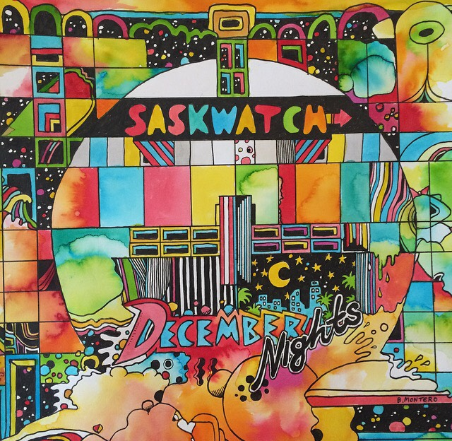 Saskwatch - December Nights (2017)