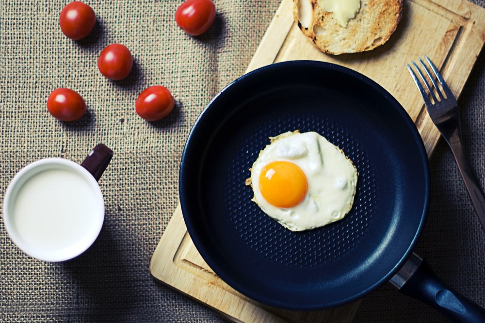 Egg yolks are like little edible suns!  Photo from    Pexels.com
