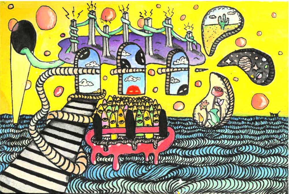 """Trippy Land"" by Mandy Gou"