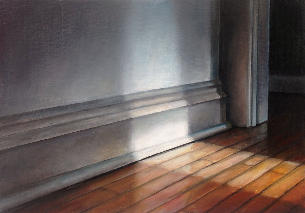 Light in a Room   2017  Oil on linen  5 x 7 inches