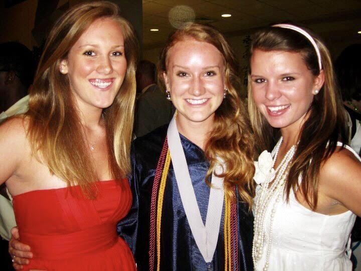 Gracie's high school graduation. May 2010.