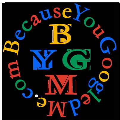 Branding: BecauseYouGoogledMe Website