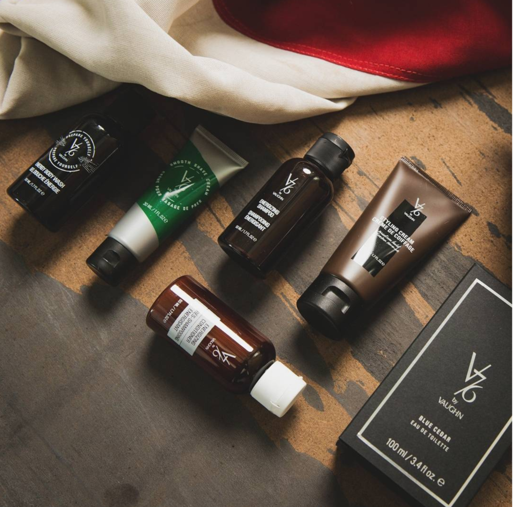 V76 by Vaughn celebrates the tradition of men's grooming with an American sensibility. The sophisticated collection offers must-have classics updated for the modern man—and does so with an effortless, uncomplicated approach. The V76 by Vaughn collection focuses on the whole man, including hair, shave, face and body. All of the V76 by Vaughn products are: Made with American-Sourced Ingredients, Packed with Vitamins and Minerals, Petroleum-Free, Sulfate-Free, Mineral Oil-Free, Paraben-Free, Gluten-Free, Vegan or Vegetarian, and Cruelty-Free.