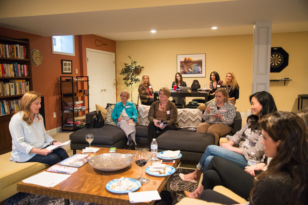 March 2017 Giving Circle Meeting. Photo by Kristin Falvo.