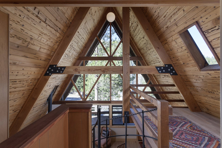 Alpine Meadows A-Frame — Daniel Fraiman Construction