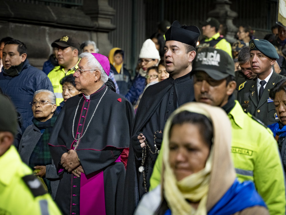 Archbishop Fausto Gabriel Trávez