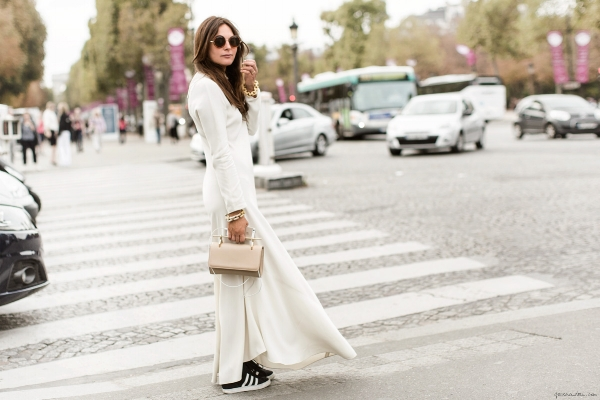 The fact that my outfit inspiration comes from  this three-year-old post from Garance Doréreminds me that I'm not hip.