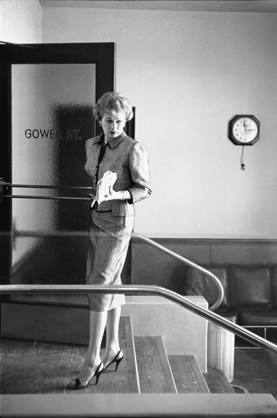 Lucille outside of Desilu Studios, 1958. Photo: Getty Images