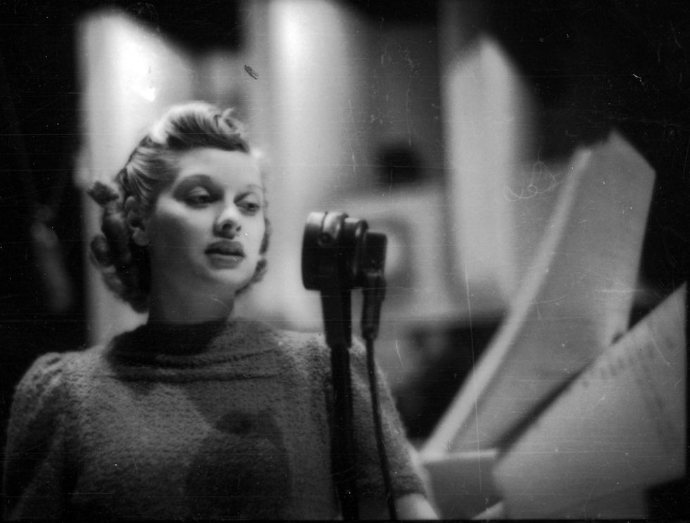 On a Radio Show in 1938 Photo: Getty Images