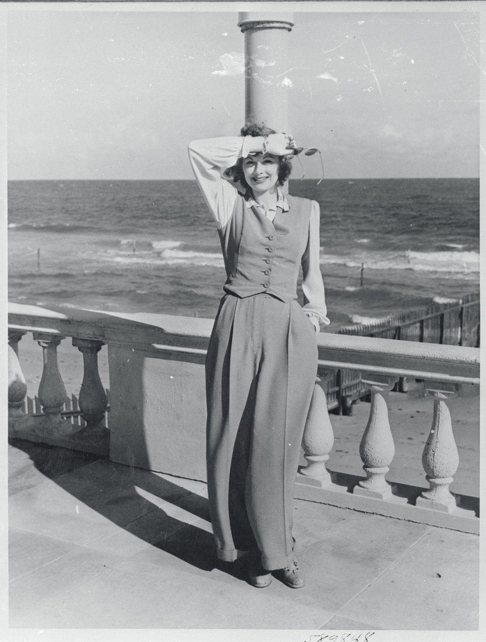 Lucille, in my dream outfit, on vacation in 1941 Photo: Getty Images