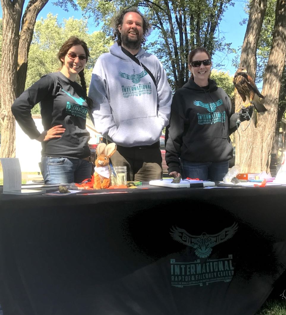 The IRFC crew and Kieran at Flagstaff Festival of Science for Science in the Park