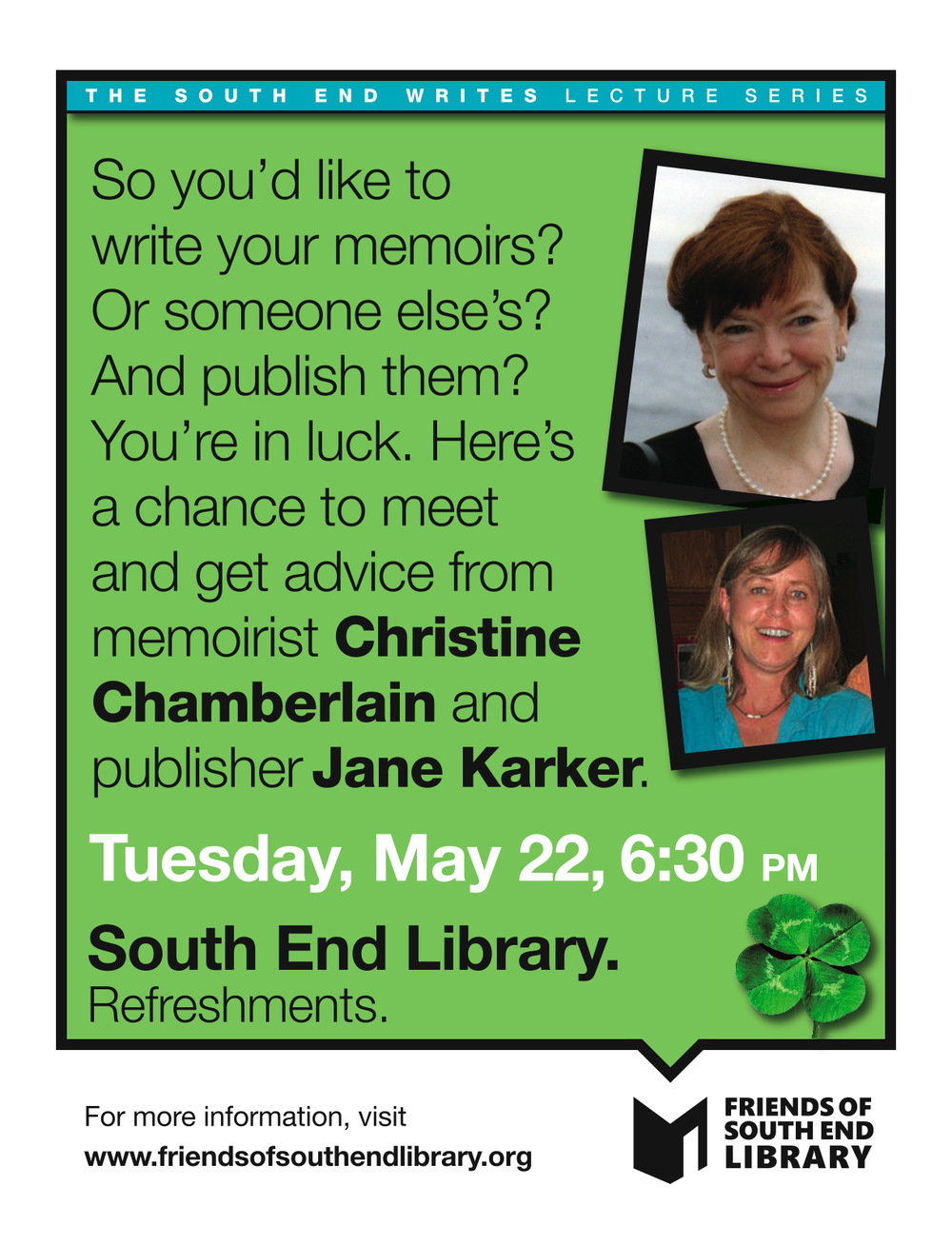FOSEL _Greenn Christine Chamberlain flyer_5-22-12 1