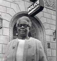 The first African-American female olice officer, Dorothy Harris