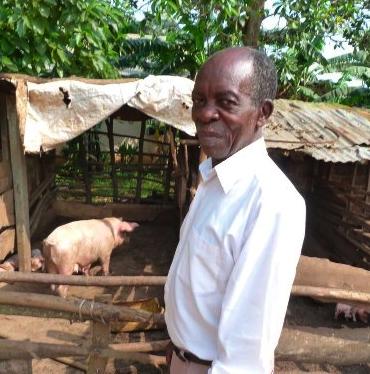 A Ugandan Elder,  by photographer Jennifer Coplon