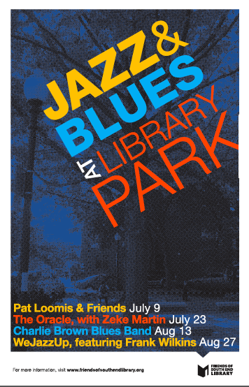Jazz and Blues in Lbrary Park 2013