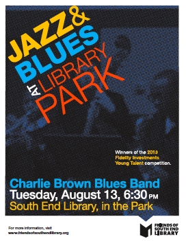 the Charlie Bown Blues Band Concert August 13