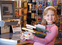 Self-checkout for Kids in the Minneapolis-Hennepin County Library System