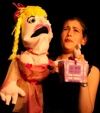 Puppeteer Nicola McEldowney