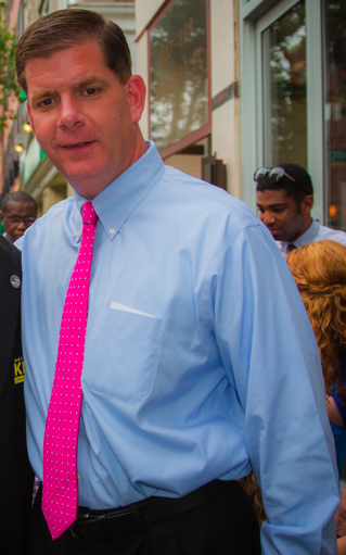 Mayoral Candidate Marty Walsh