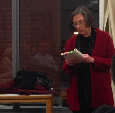 "Alison Barnet reading from ""South End Character"""