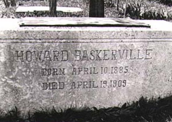 Grave site of a Beloved American, Howard C. Baskerville in Tabriz