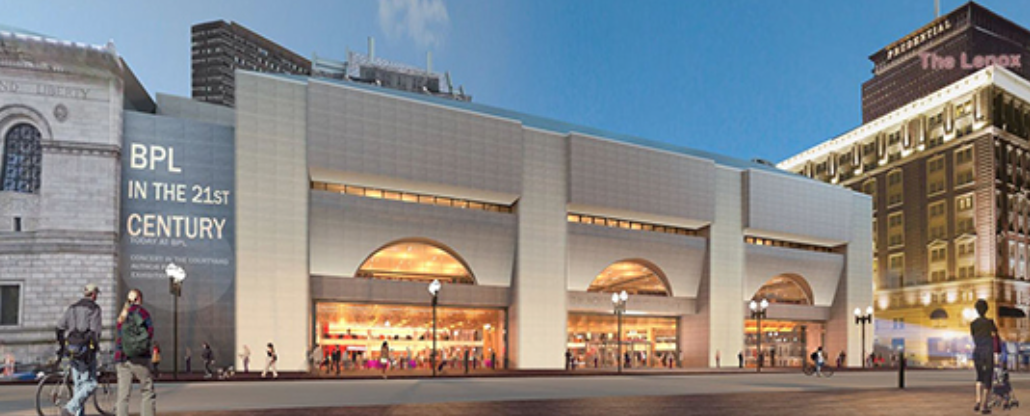 A model of the 21st-century BPL as envisioned for its summer 2016 opening