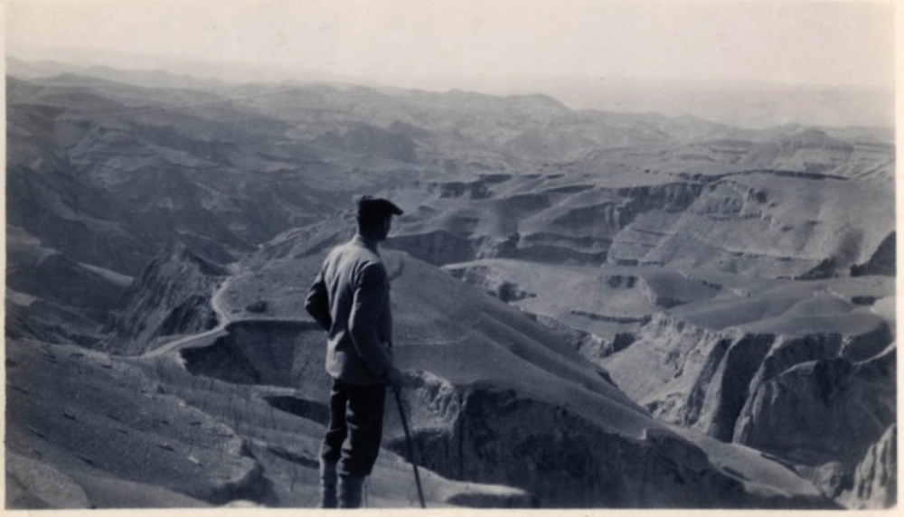 The desert-like landscape of North China in the 1920s. Courtesy Virginia Pye.