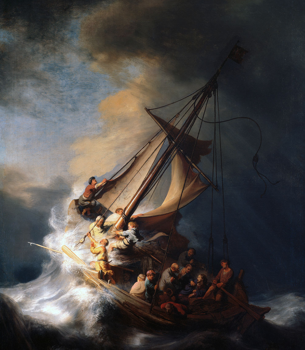 Rembrandt's only known seascape, stolen from the Garner Museum