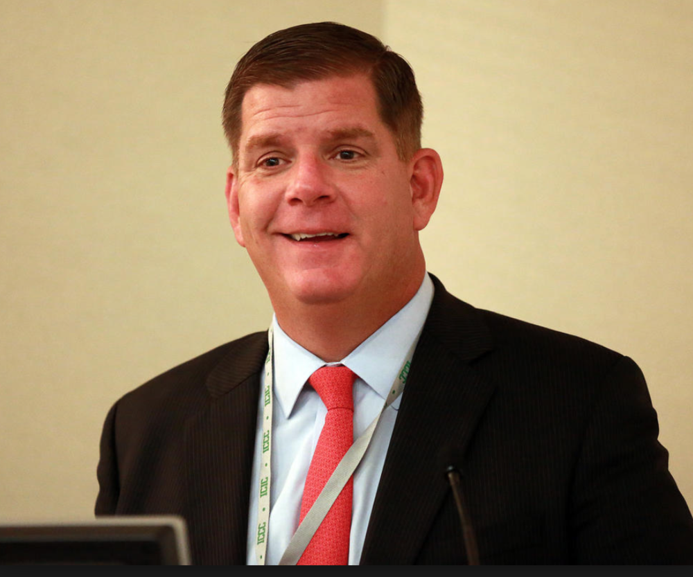 Mayor Marty Walsh at a recent event. Boston Herald.