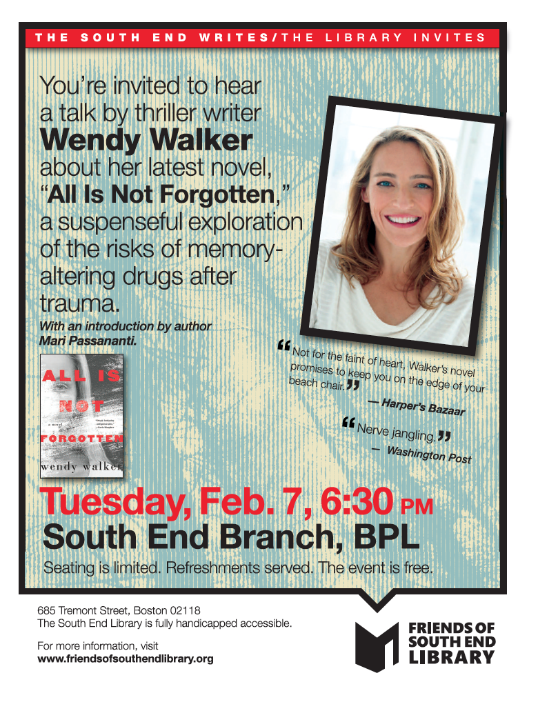 So Have You Actually Read Walkers >> Suspense Writer Wendy Walker Will Be At The Se Library On Tuesday