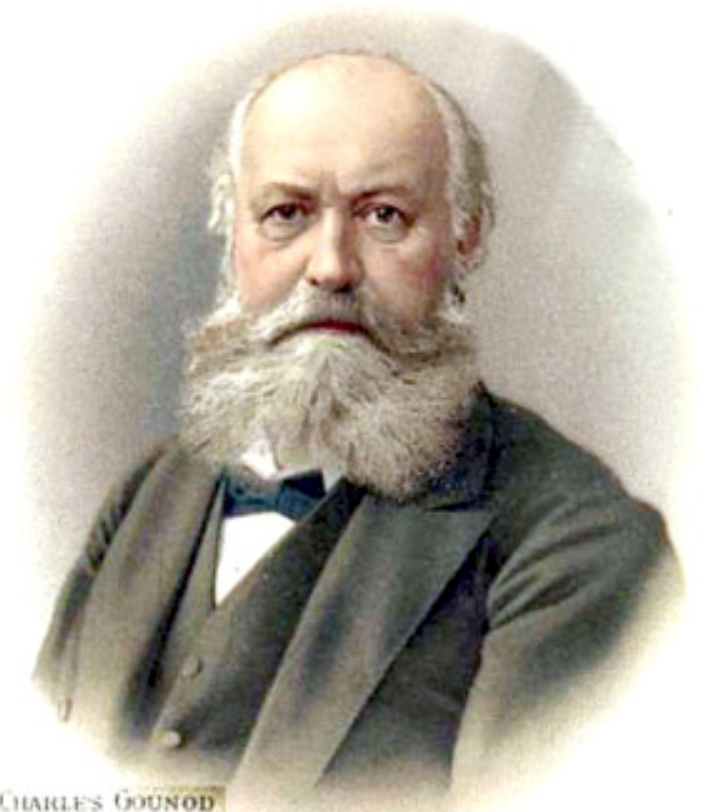 19th-century French composer Charles Gounod