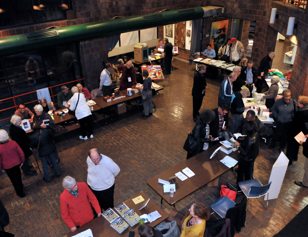 The First South End Authors' Book Festival was held in the Harriet Tubman House in 2015