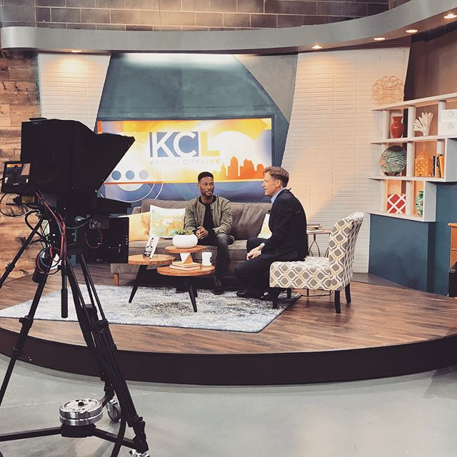 Great time on @kclivetv today. #ProtectYourDreams @41actionnews