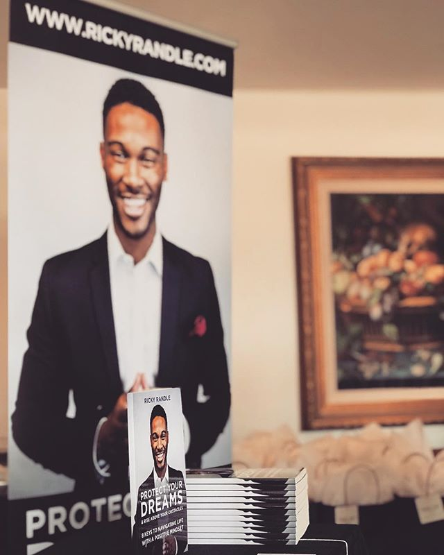 |Thank You| Major gratitude to everyone who came out to the book release events these past two weeks & everyone who has got their copy of Protect Your Dreams so far! I hope it's a blessing for you as it was for me writing it. God is great & I'm excited about what's to come 🙏🏾 _______________________________  Get your copy today at www.rickyrandle.com!