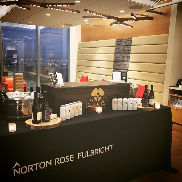 Happy to be partnering with Norton Rose Fulbright for their Associates event this evening.  Special shoutout to one of our favorite restaurants @tacofinovan who also happen to be catering the event @nortonrosefulbright  #vancouverbartenders #youngprofessionals #vancity #vancitybuzz #drinks #tacos