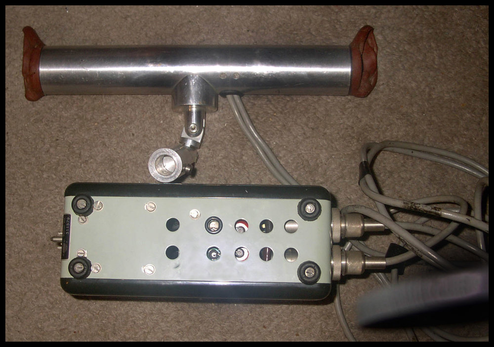One of Les Paul's hearing-related inventions.
